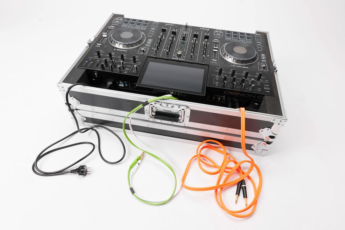 MAGMA DJ CONTROLLER CASE PRIME 4 FLIGHT CASE PER DENON PRIME 4 7
