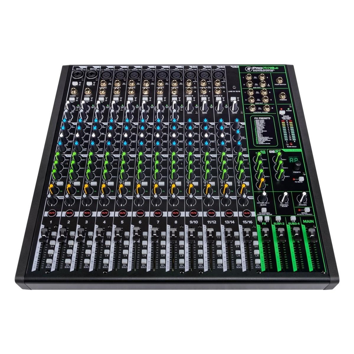 MACKIE PROFX16 V3 MIXER 16 CANALI CON EFFETTI PROFESSIONALI E INTERFACCIA AUDIO USB 1