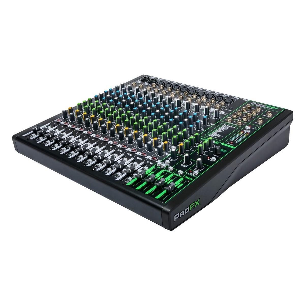 MACKIE PROFX16 V3 MIXER 16 CANALI CON EFFETTI PROFESSIONALI E INTERFACCIA AUDIO USB 2
