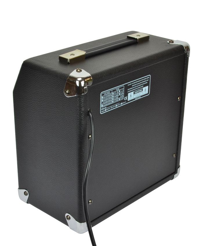 BRYCE MUSIC AAR-15 M AMPLIFICATORE PER CHITARRA ACUSTICA 15 WATT 6.5 + CHORUS + AUX IN 1