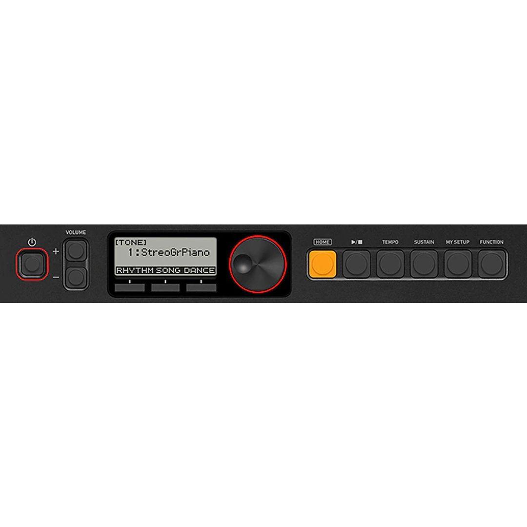 CASIO CTS200 BK TASTIERA PORTATILE 61 TASTI MIDI USB 2