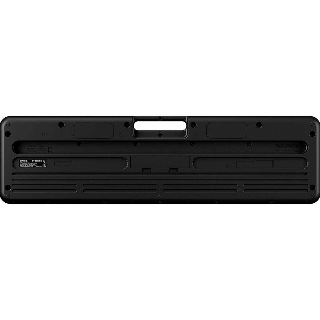 CASIO CTS200 BK TASTIERA PORTATILE 61 TASTI MIDI USB 3