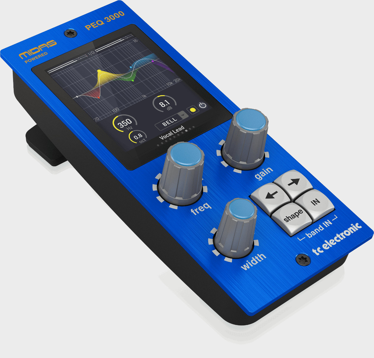 TC ELECTRONIC PEQ 3000 NATIVE PEQ 3000-DT CONTROLLER MIDAS HERITAGE 3000 EQ 1