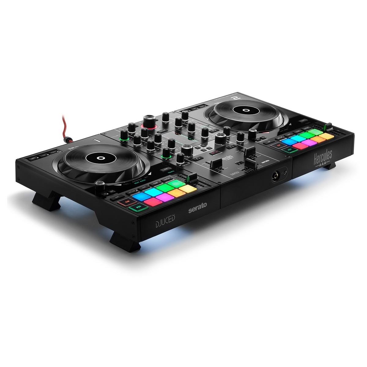 HERCULES DJ CONTROL INPULSE 500 CONTROLLER DIGITALE 2 DECK USB PER DJ 1