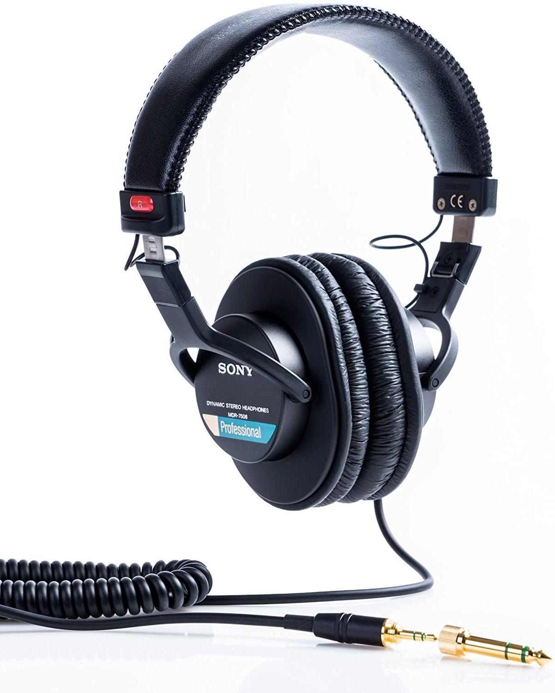 SONY MDR-7506 CUFFIA DA STUDIO E DJ CHIUSA CIRCUMAURALE 1
