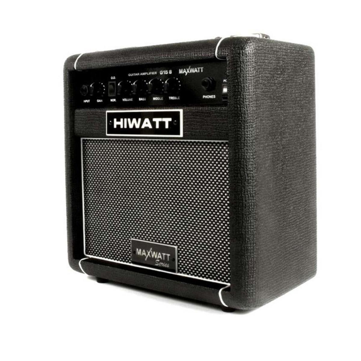 HIWATT MAXWATT G15-8 COMBO AMPLIFICATORE DA STUDIO PER CHITARRA 15 WATT 8 1