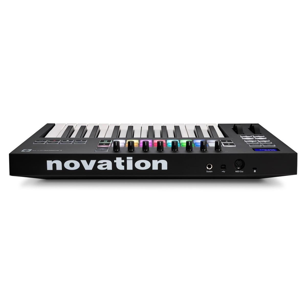 NOVATION LAUNCHKEY 25 MK3 TASTIERA CONTROLLER MIDI USB 25 TASTI 1
