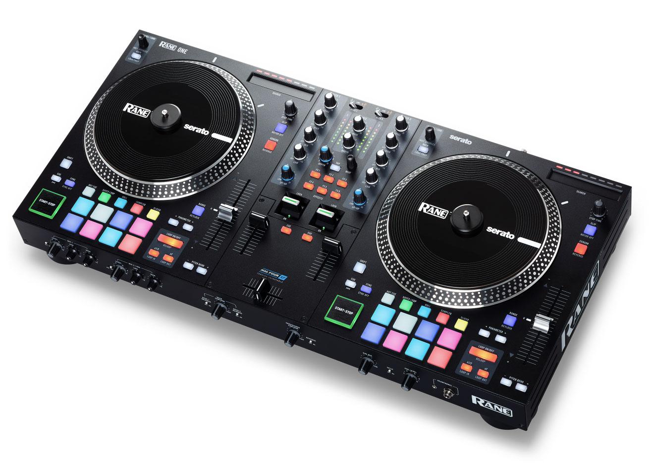 RANE ONE CONTROLLER MOTORIZZATO PER SERATO DJ CON MIXER STAND ALONE 4