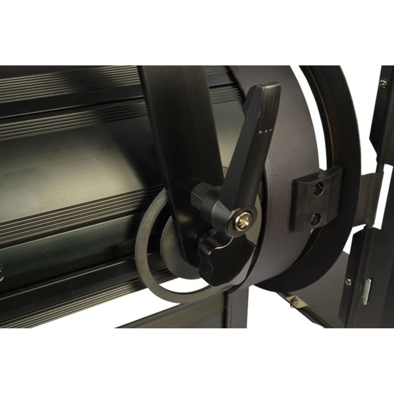 ATOMIC4DJ 61054 SCALA 100 FARO TEATRALE FRESNEL SPOTLIGHT 100 WATT LED WW 3200K – 5000K + BARNDORS 6