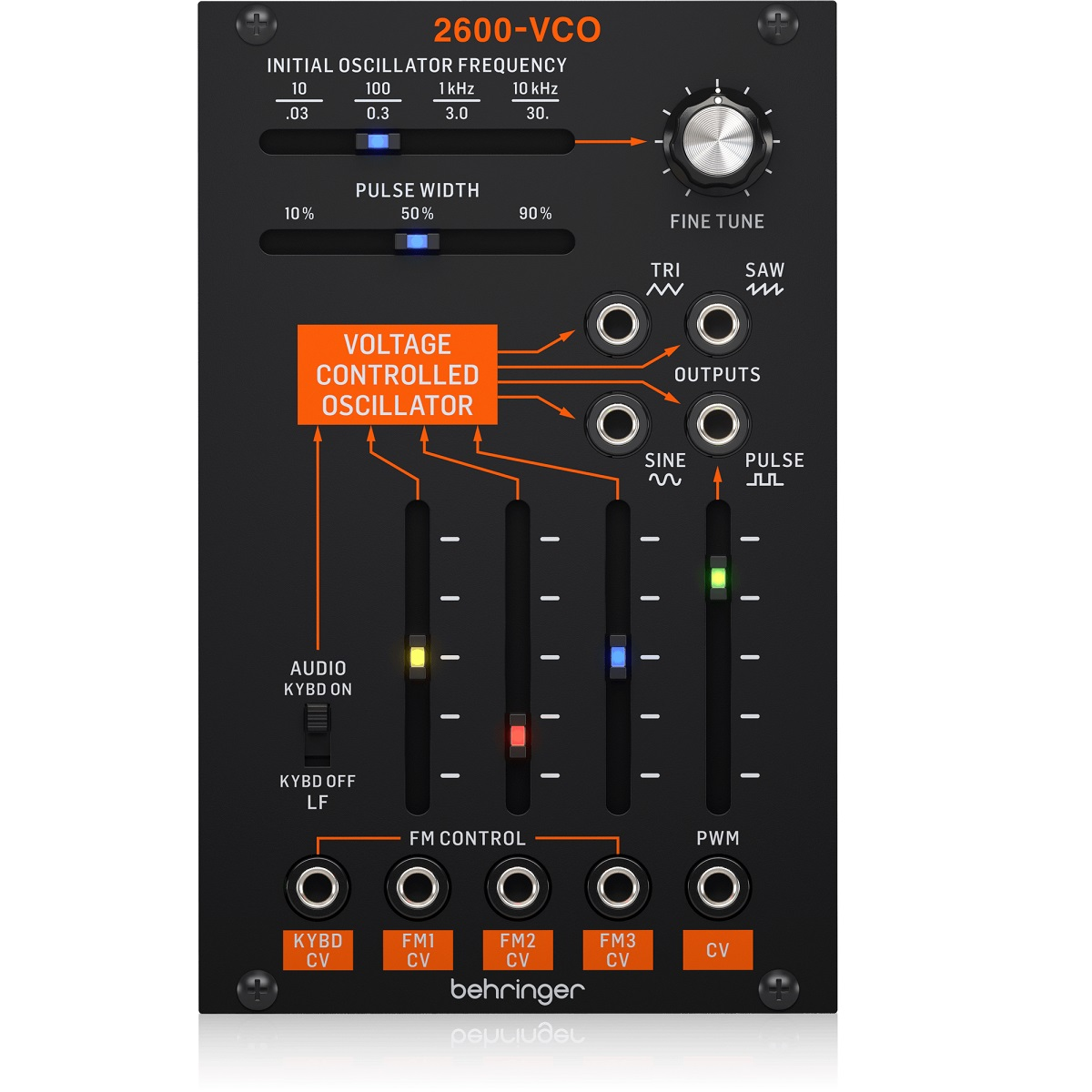 BEHRINGER 2600-VCO ANALOGICO MODULO EURORACK 1