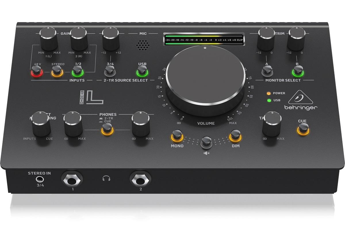 BEHRINGER STUDIO L CONTROLLER MONITOR PRE MIDAS INTERFACCIA AUDIO USB 1