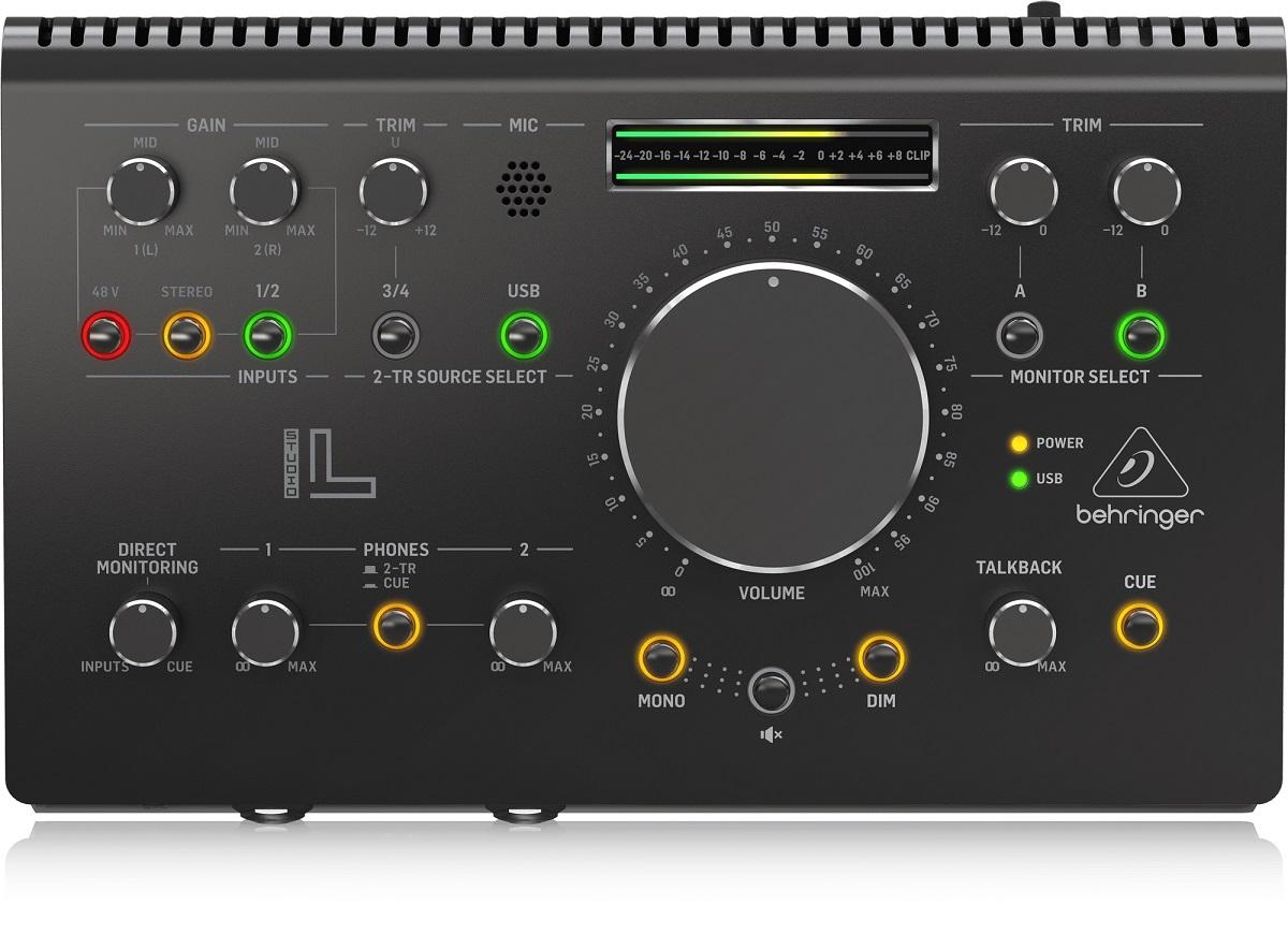 BEHRINGER STUDIO L CONTROLLER MONITOR PRE MIDAS INTERFACCIA AUDIO USB 2