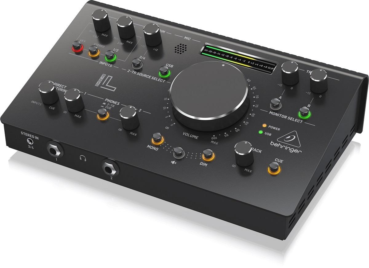 BEHRINGER STUDIO L CONTROLLER MONITOR PRE MIDAS INTERFACCIA AUDIO USB 3