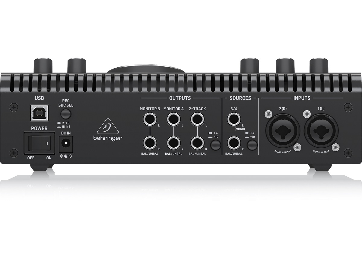 BEHRINGER STUDIO L CONTROLLER MONITOR PRE MIDAS INTERFACCIA AUDIO USB 4