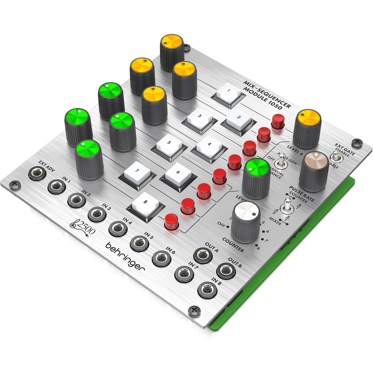 BEHRINGER 1050 MIX-SEQUENCER MODULE 8 CANALI MODULO SERIE 2500 2