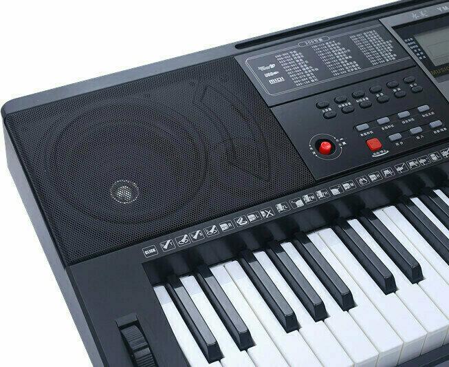 YONGMEI YM928 TASTIERA DINAMICA 61 TASTI 300 SUONI E RITMI MIDI USB 30 DEMO INSEGNAMENTO 3