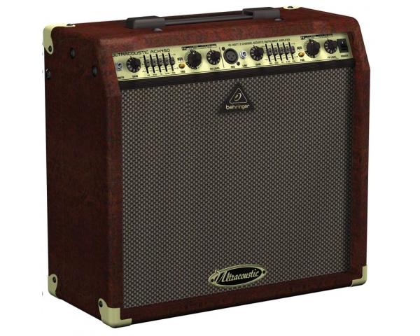 behringer acx450 ultracoustic amplificatore per chitarra acustica 45w 1x8. Black Bedroom Furniture Sets. Home Design Ideas
