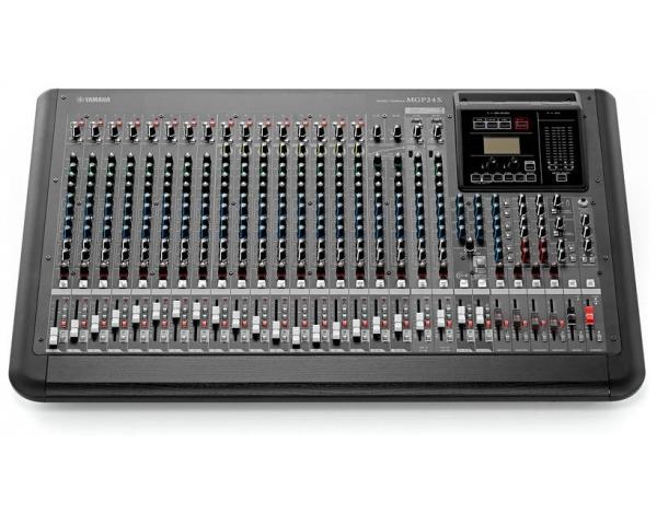 Yamaha mgp24x mixer analogico 24 canali effetti usb staffe for Yamaha mgp24x 24