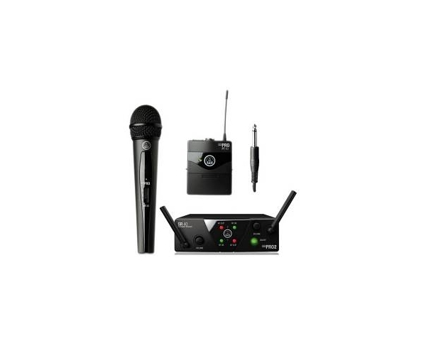 AKG WMS40-MINI 2 MIX INSTRUMENTAL VOCAL PALMARE VOCE E STRUMENTALE ISM2/3