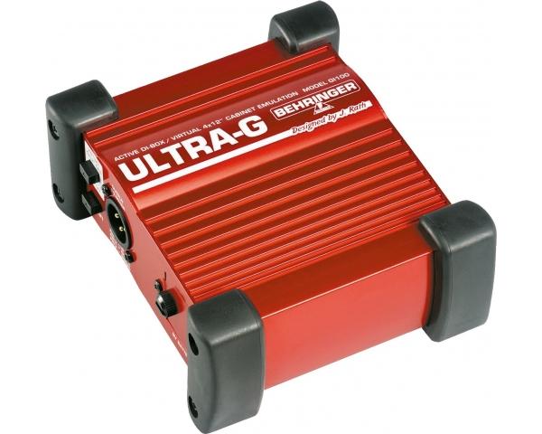 BEHRINGER GI100 ULTRA-G DI-BOX ATTIVA + SIMULATORE CABINET 4X12